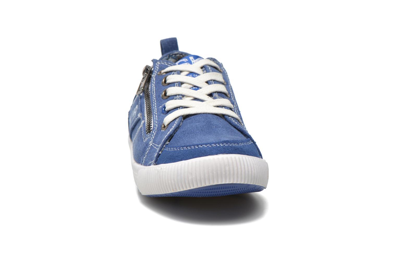 Deportivas Bopy Isidoro Azul vista del modelo