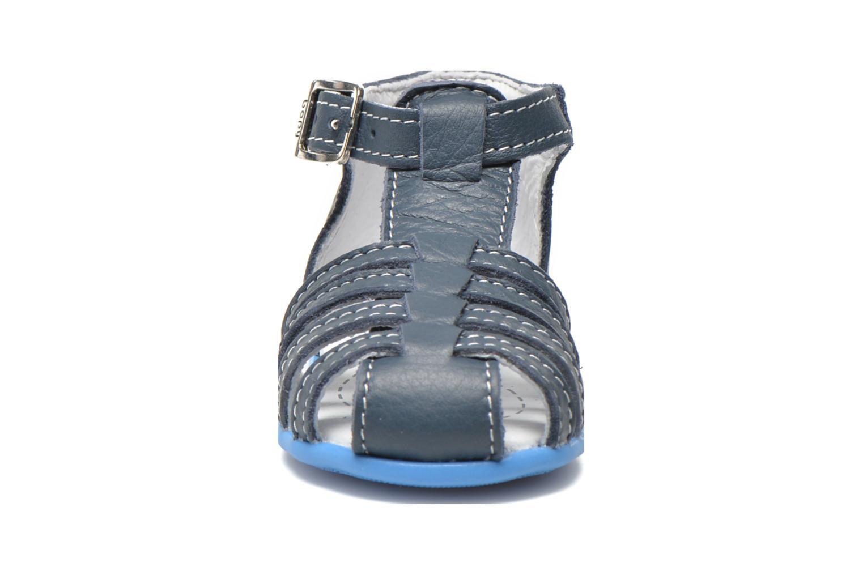 Sandales et nu-pieds Bopy Pablo Bleu vue portées chaussures