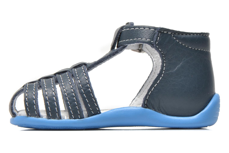Sandalias Bopy Pablo Azul vista de frente