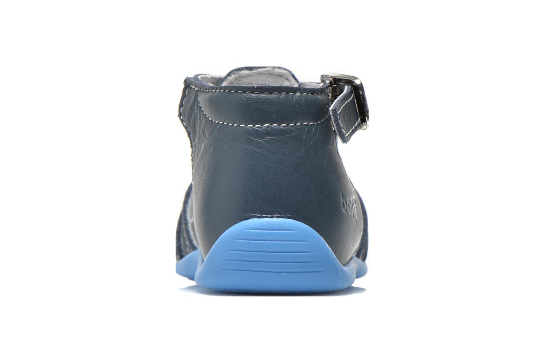Sandales et nu-pieds Bopy Pablo Bleu vue droite