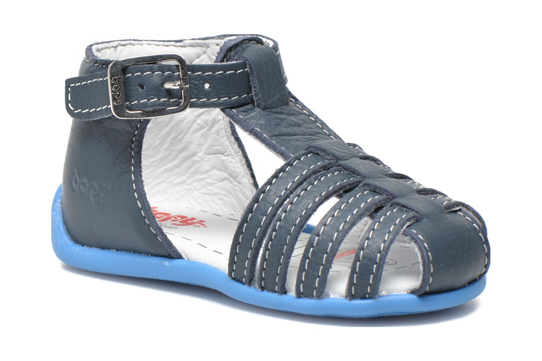 Sandaler Bopy Pablo Blå detaljeret billede af skoene