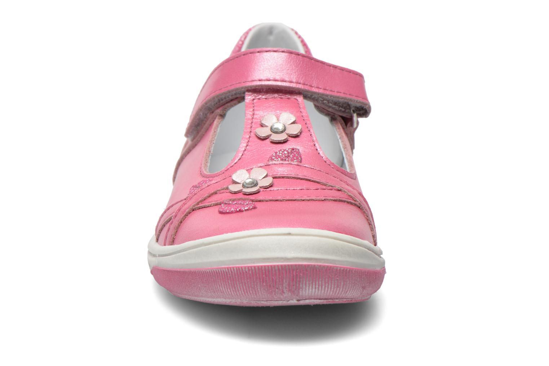 Chaussures à scratch Bopy Sania Rose vue portées chaussures
