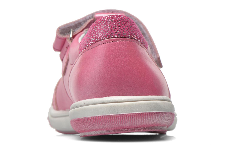 Sko med velcro Bopy Sania Pink Se fra højre