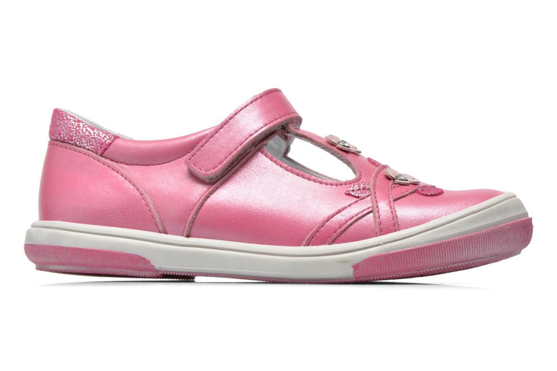 Sko med velcro Bopy Sania Pink se bagfra
