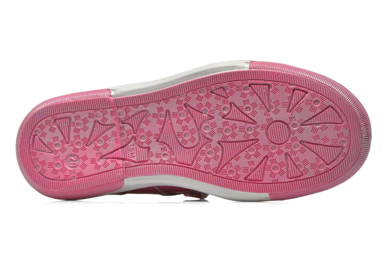 Chaussures à scratch Bopy Sania Rose vue haut