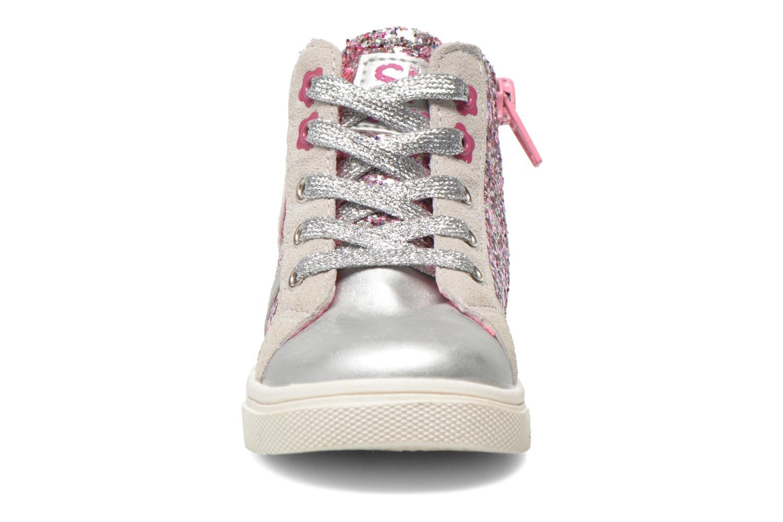 Baskets Bopy Tamira kouki Argent vue portées chaussures