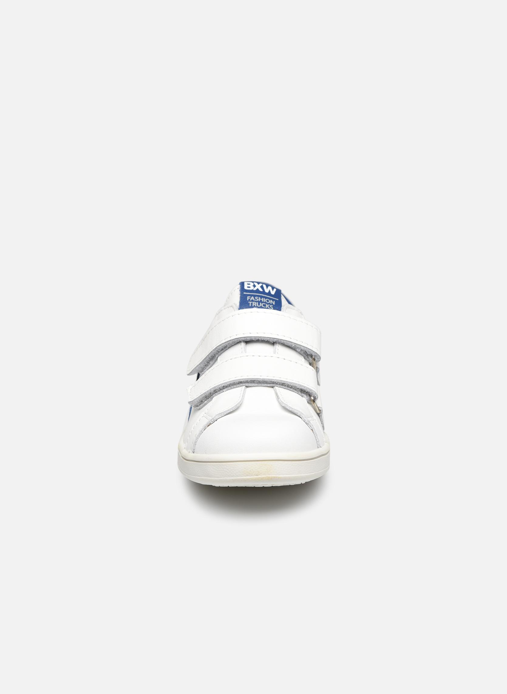 Baskets Bopy Vloty Blanc vue portées chaussures