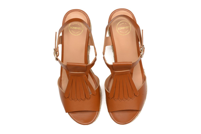 Sandales et nu-pieds Made by SARENZA Discow Girl #1 Marron vue portées chaussures