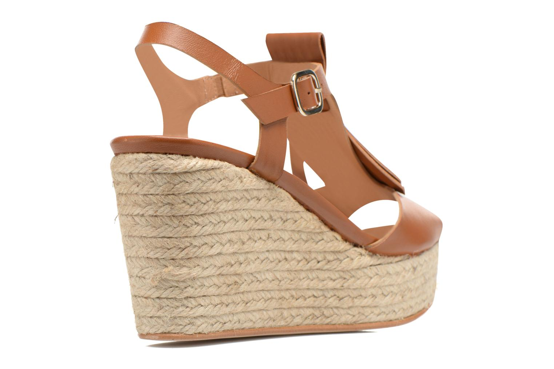 Sandales et nu-pieds Made by SARENZA Discow Girl #1 Marron vue face