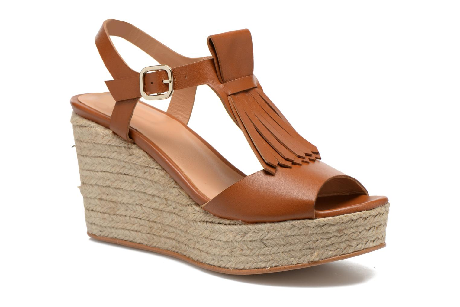 Sandals Made by SARENZA Discow Girl #1 Brown view from the right