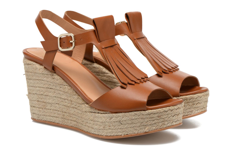 Sandales et nu-pieds Made by SARENZA Discow Girl #1 Marron vue derrière
