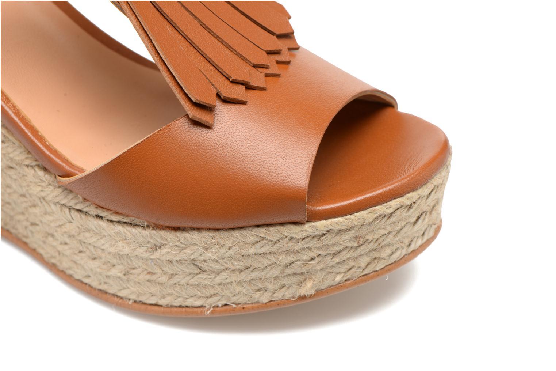 Sandales et nu-pieds Made by SARENZA Discow Girl #1 Marron vue gauche