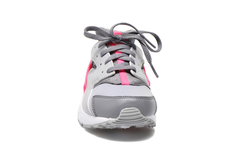 Sneaker Nike Nike Huarache Run (Ps) grau schuhe getragen