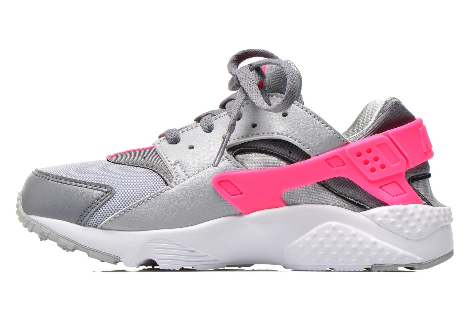 Baskets Nike Nike Huarache Run (Ps) Gris vue face