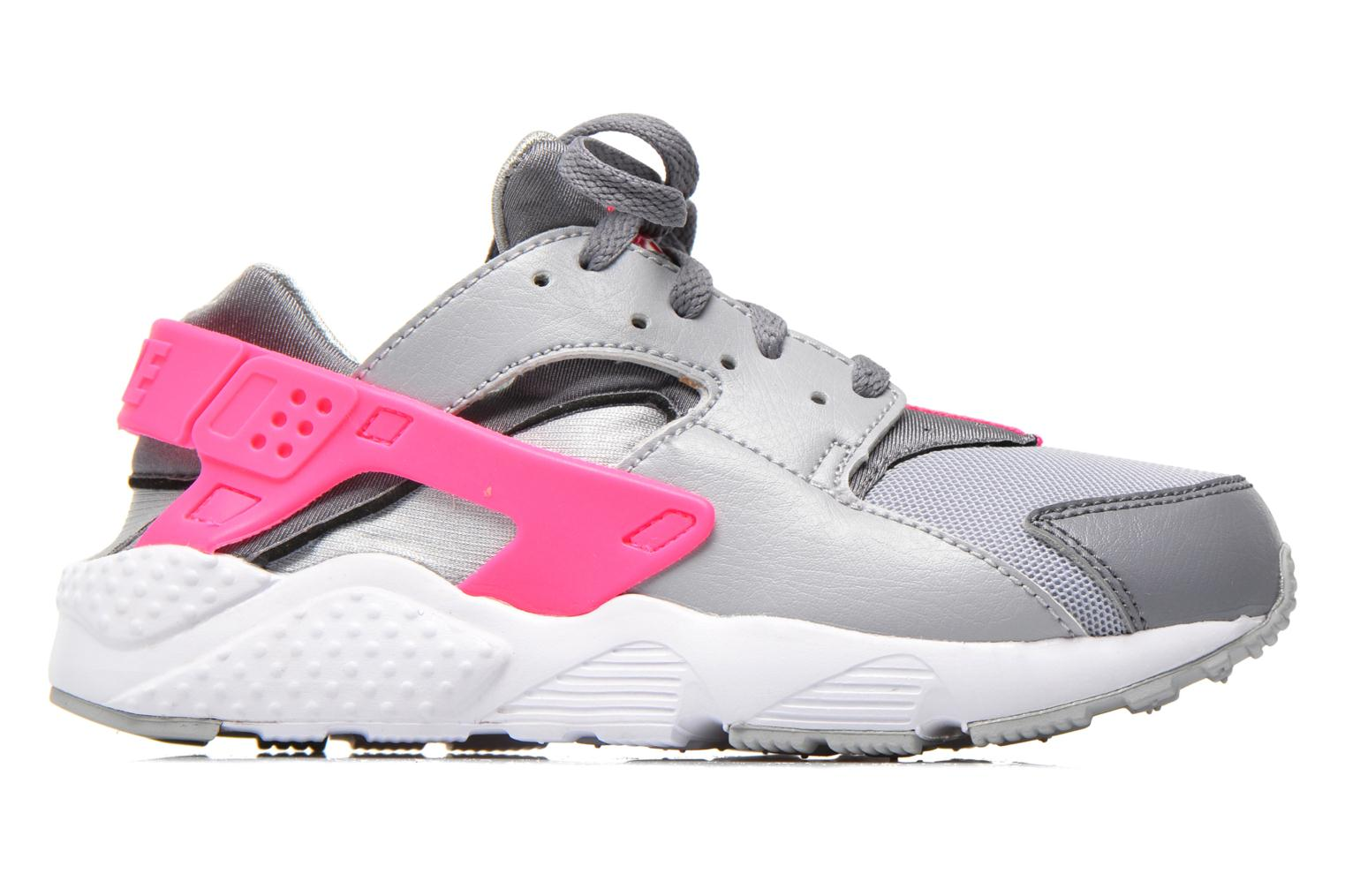 Nike Huarache Run (Ps) Wlf Grey/White-Cl Gry-Hypr Pnk
