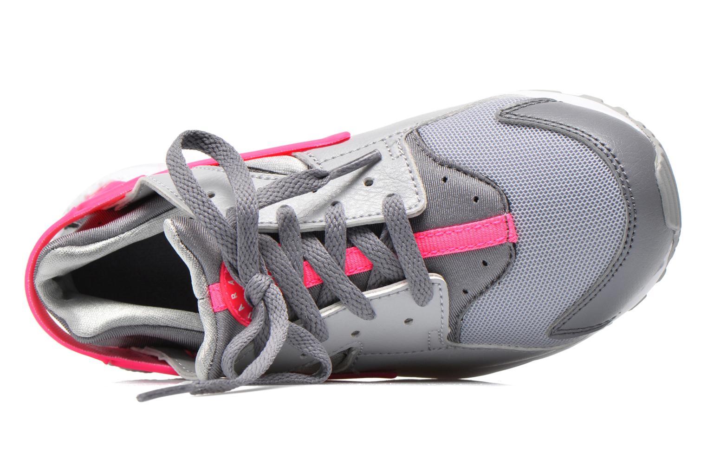 Nike Huarache Run (Ps) Wlf Grey/White-Cl Gry-Hypr Pnk