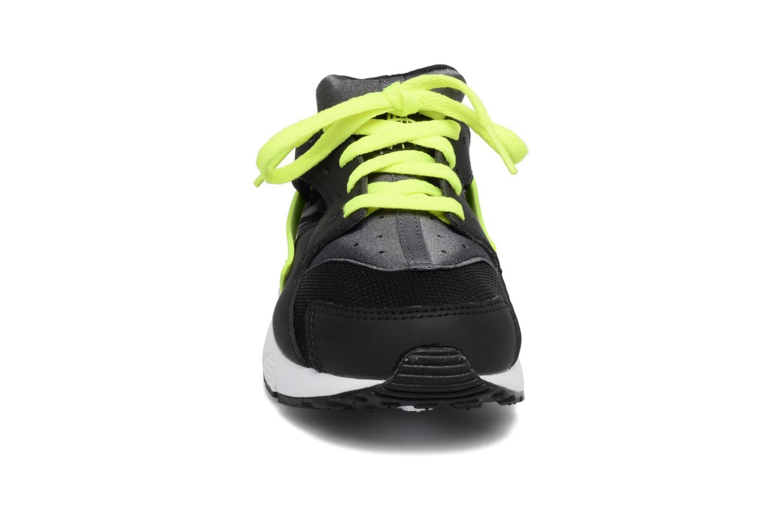 Sneaker Nike Nike Huarache Run (Ps) schwarz schuhe getragen