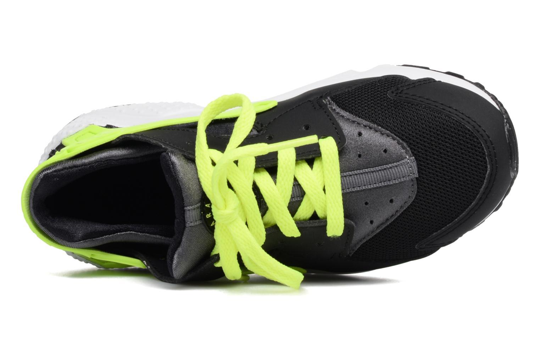 Sneaker Nike Nike Huarache Run (Ps) schwarz ansicht von links