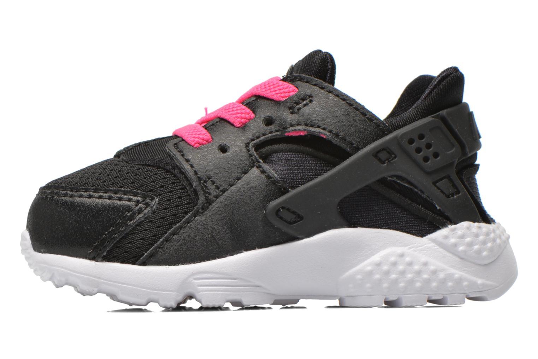 Deportivas Nike Nike Huarache Run (Td) Negro vista de frente