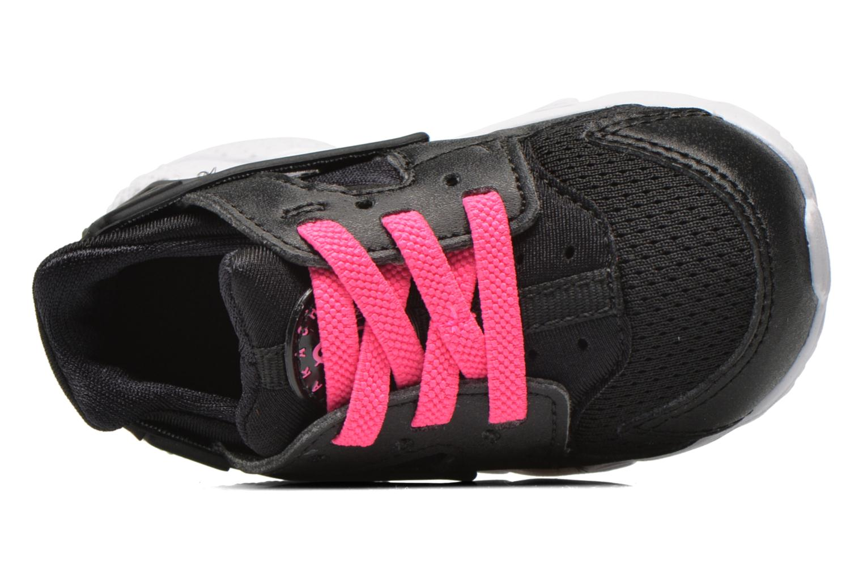 Deportivas Nike Nike Huarache Run (Td) Negro vista lateral izquierda