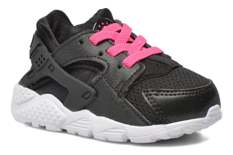 Nike Huarache Run (Td) Black White-Pink Blast