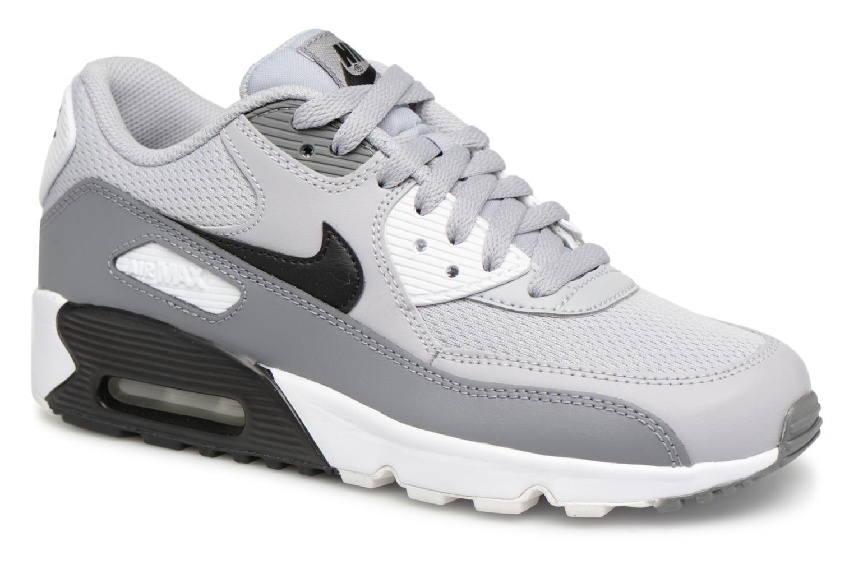 Black Air Grey White Max Grey Cool 90 Nike Gs Mesh Wolf xF0qqY74