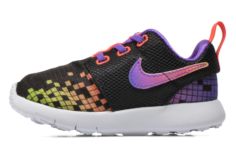 Trainers Nike Roshe One Print (Tdv) Black front view