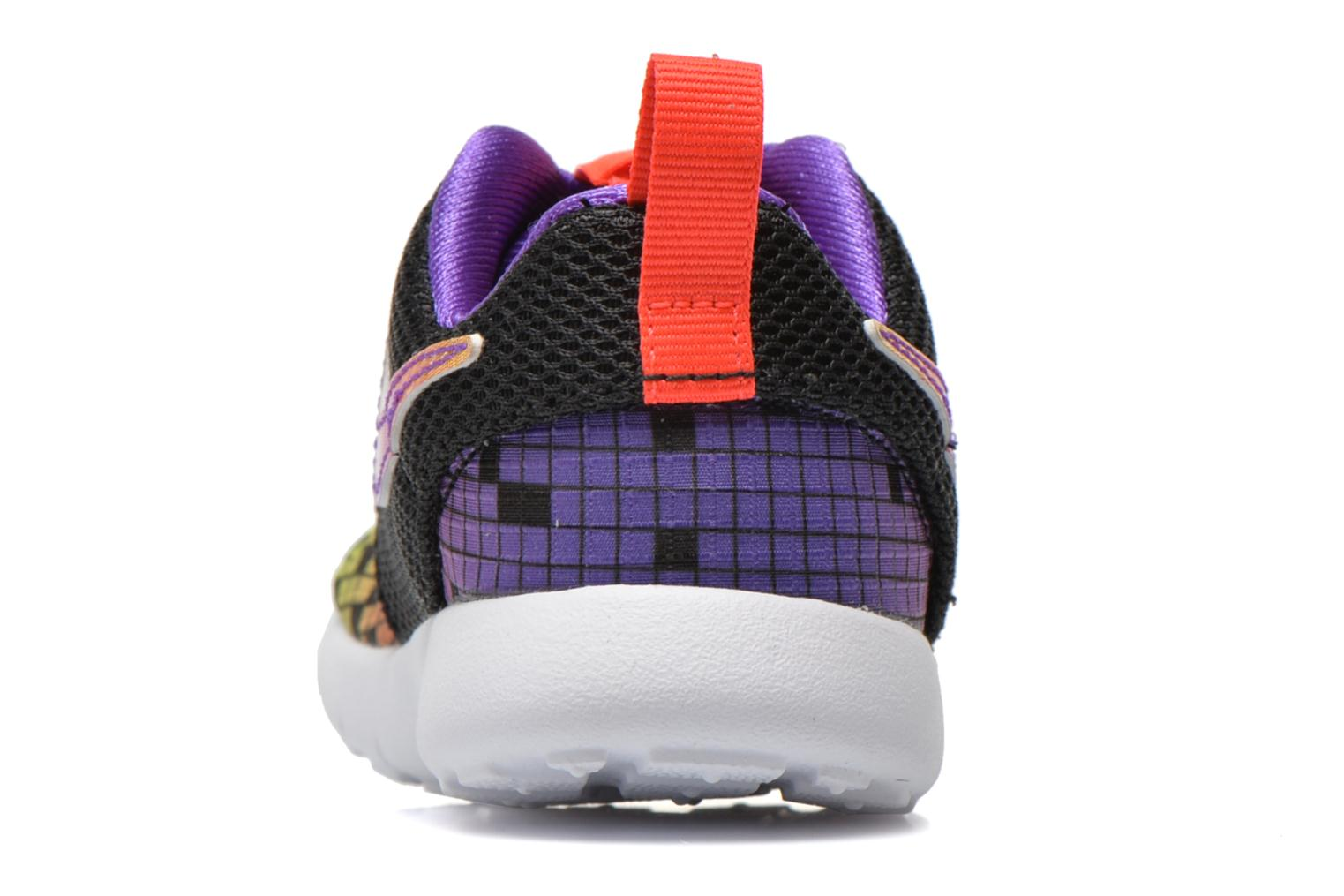 Trainers Nike Roshe One Print (Tdv) Black view from the right