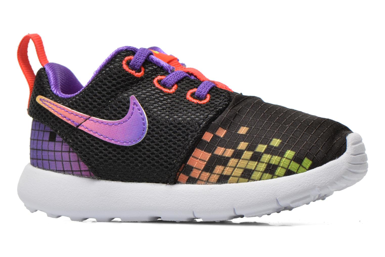 Trainers Nike Roshe One Print (Tdv) Black back view