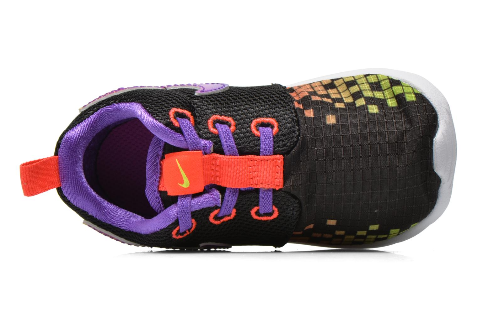 Trainers Nike Roshe One Print (Tdv) Black view from the left