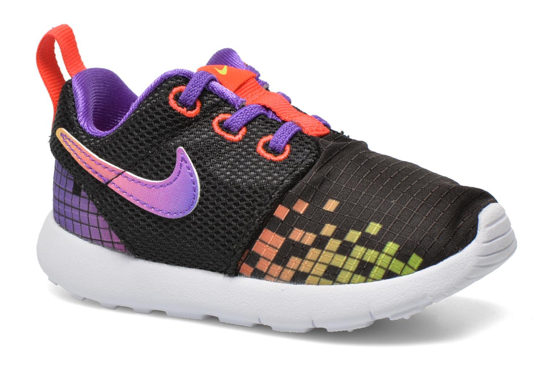 Trainers Nike Roshe One Print (Tdv) Black detailed view/ Pair view