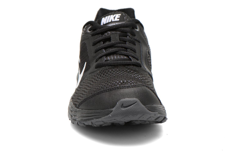 Sneaker Nike Tri Fusion Run (Gs) schwarz schuhe getragen