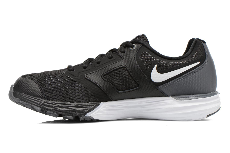 Sneaker Nike Tri Fusion Run (Gs) schwarz ansicht von vorne
