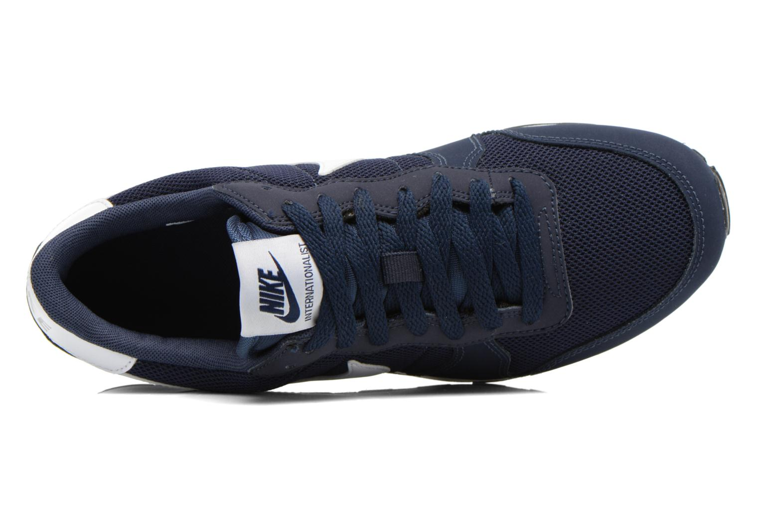 Sneaker Nike Internationalist (Gs) blau ansicht von links