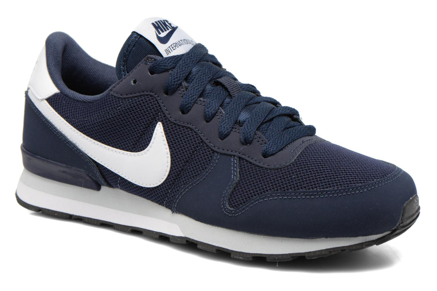 nike internationalist gs blauw