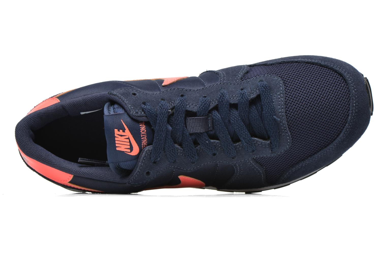 Trainers Nike Internationalist (Gs) Blue view from the left