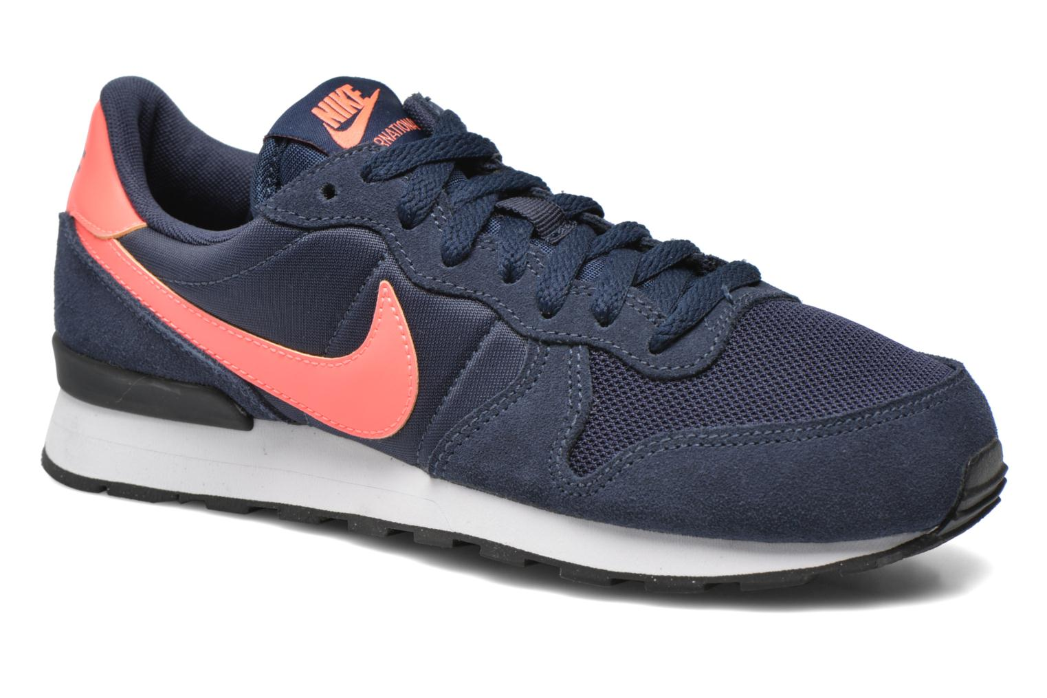 Trainers Nike Internationalist (Gs) Blue detailed view/ Pair view