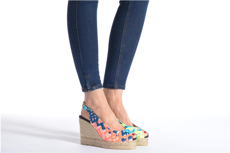 Sandales et nu-pieds Castaner Belli8ED Multicolore vue bas / vue portée sac
