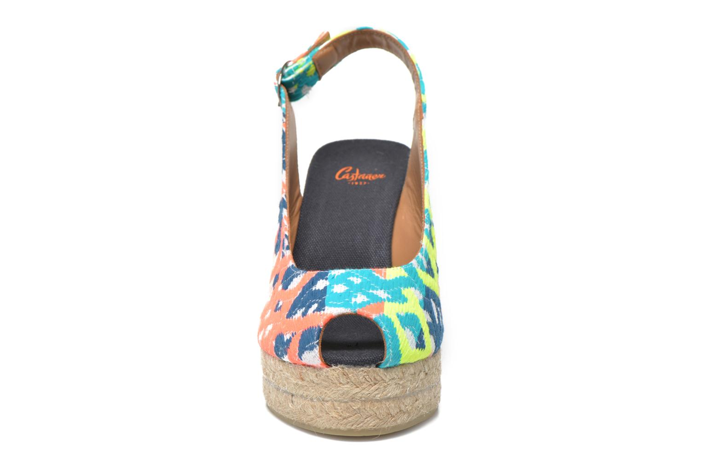 Sandali e scarpe aperte Castaner Belli8ED Multicolore modello indossato