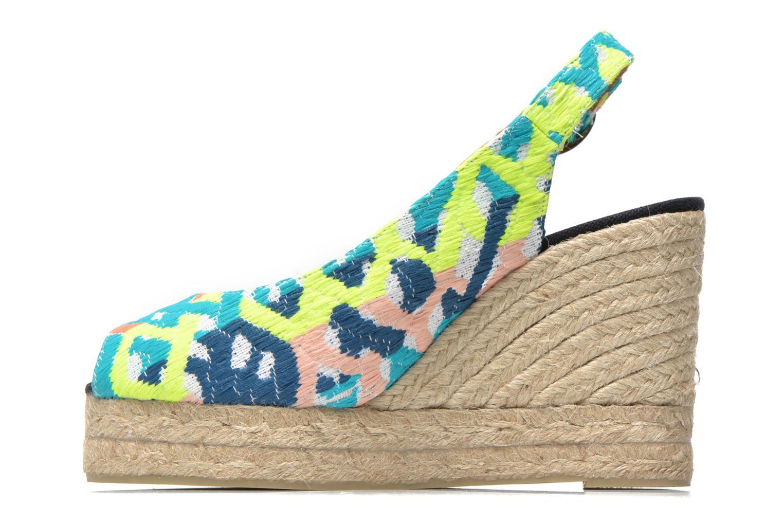 Sandales et nu-pieds Castaner Belli8ED Multicolore vue face