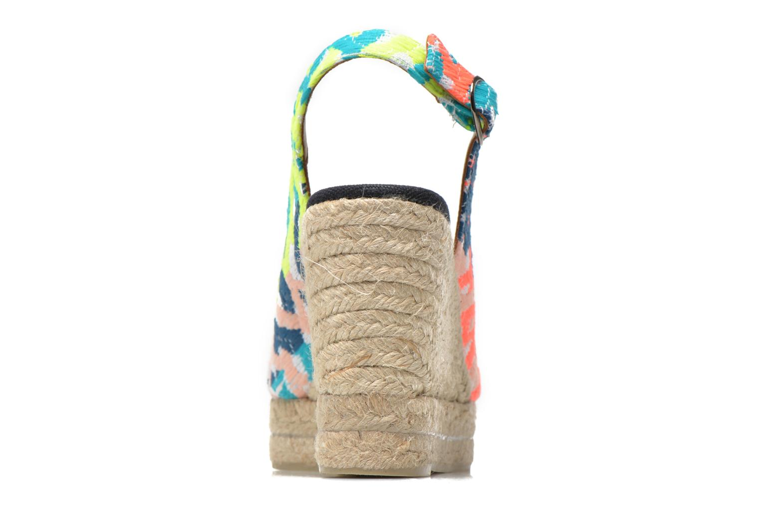 Sandals Castaner Belli8ED Multicolor view from the right