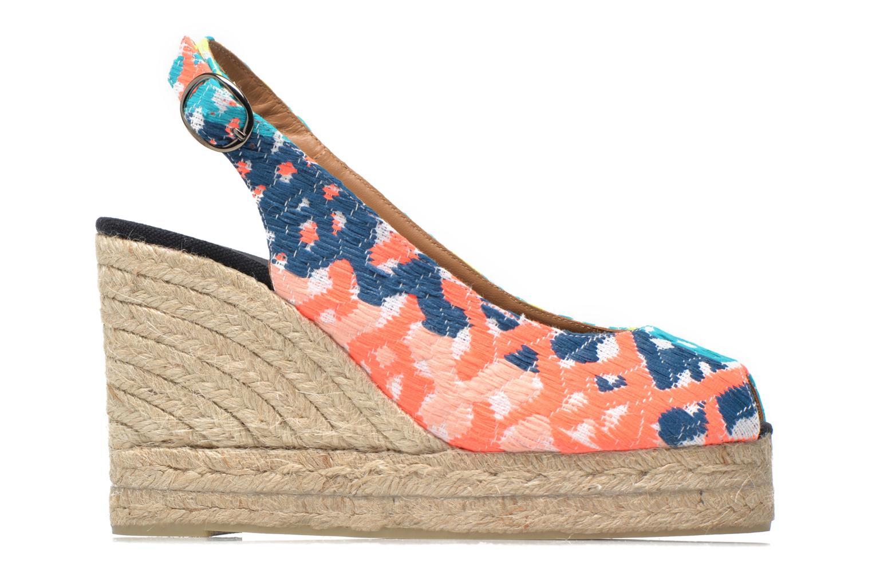 Sandals Castaner Belli8ED Multicolor back view