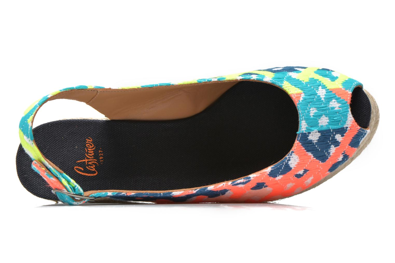 Sandals Castaner Belli8ED Multicolor view from the left