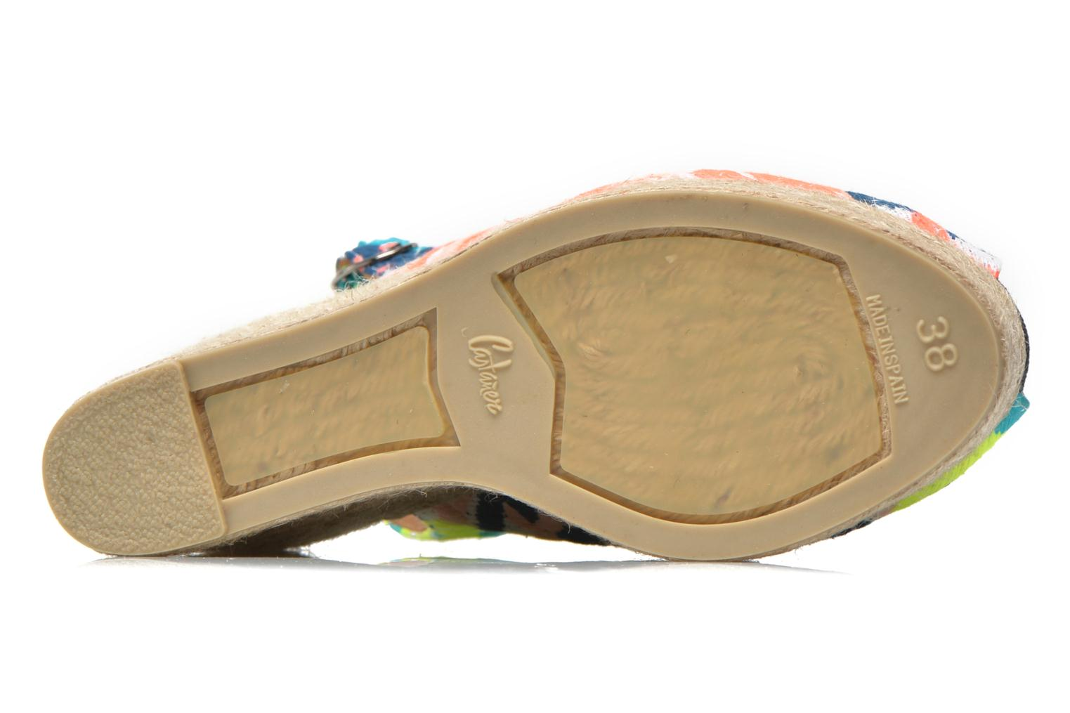 Sandals Castaner Belli8ED Multicolor view from above