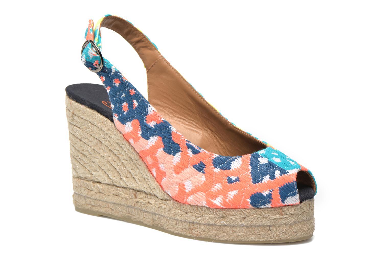 Sandales et nu-pieds Castaner Belli8ED Multicolore vue détail/paire
