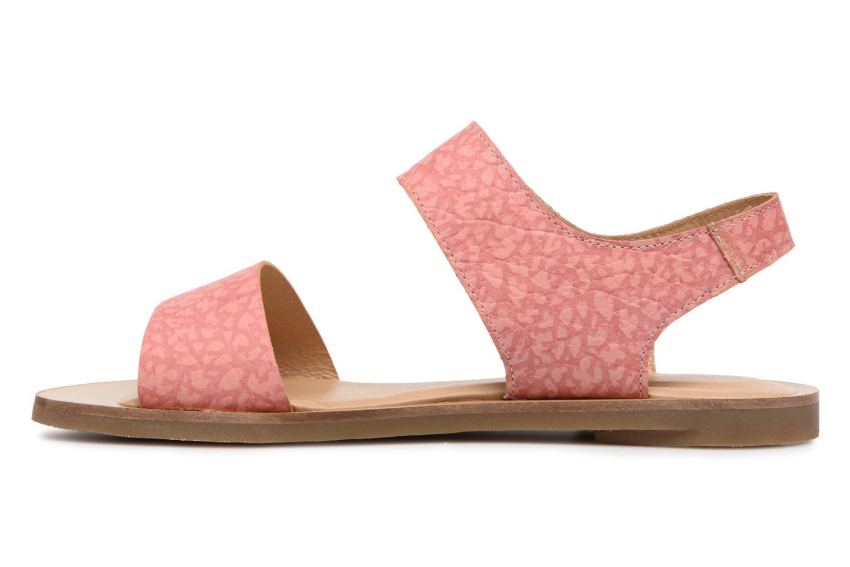 Sandals El Naturalista Tulip NF30 Pink front view