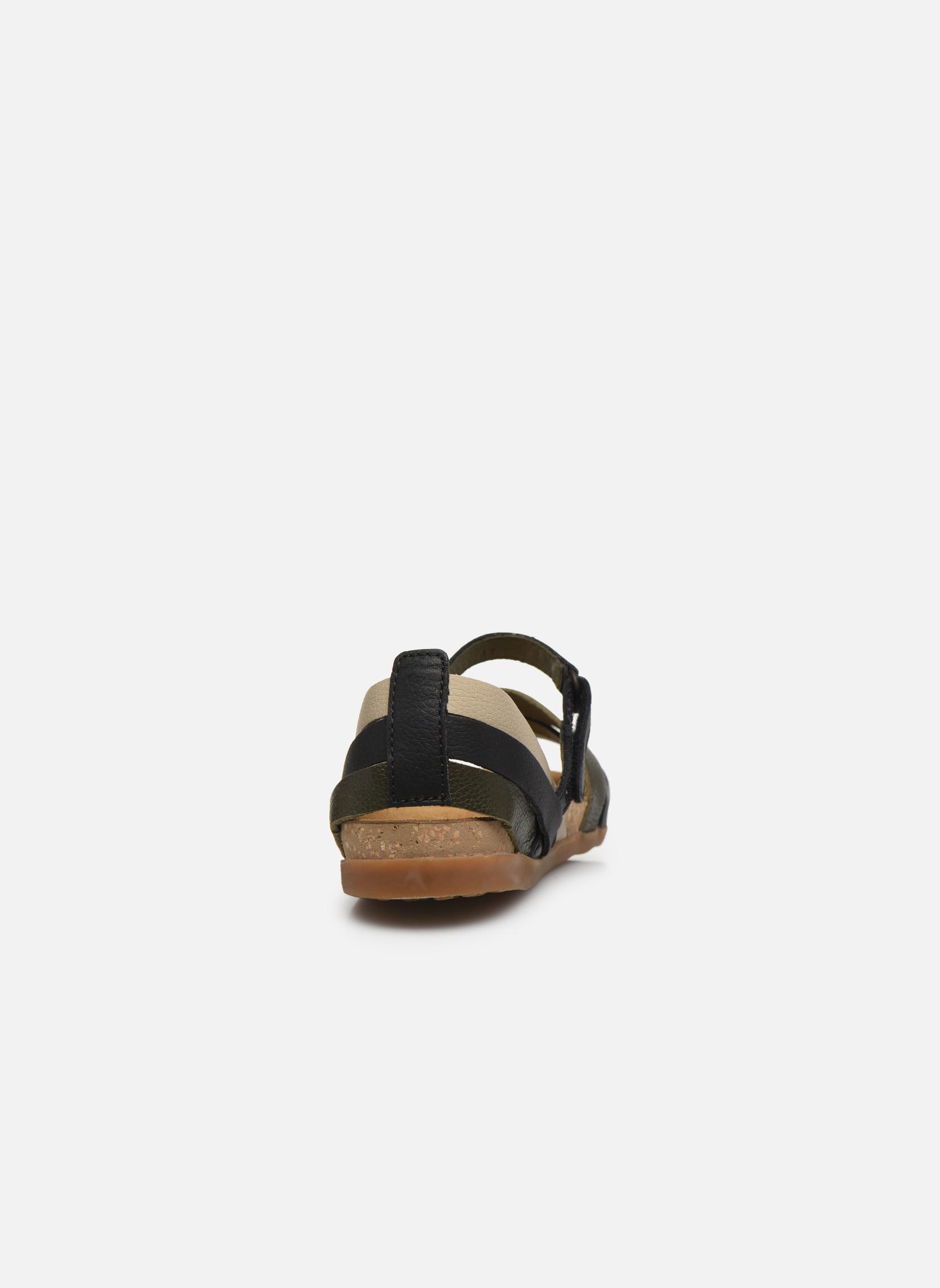 Sandales et nu-pieds El Naturalista Zumaia NF42 Noir vue droite