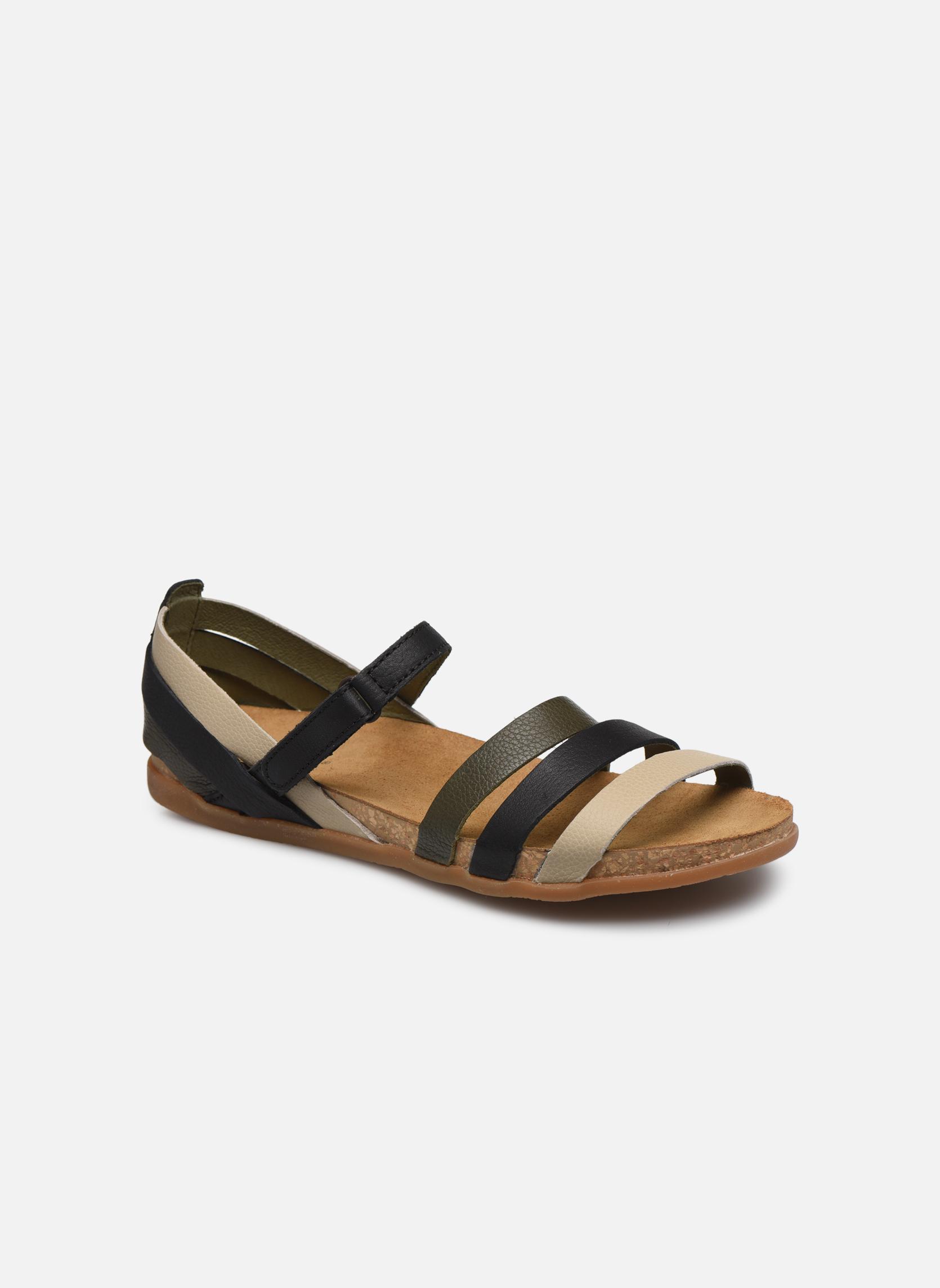 Zapatos de hombres y mujeres de moda casual El Naturalista Zumaia NF42 (Negro) - Sandalias en Más cómodo