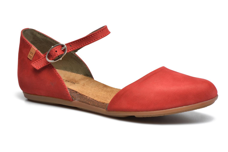 Zapatos promocionales El Naturalista Stella ND54 (Rojo) - Bailarinas   Venta de liquidación de temporada