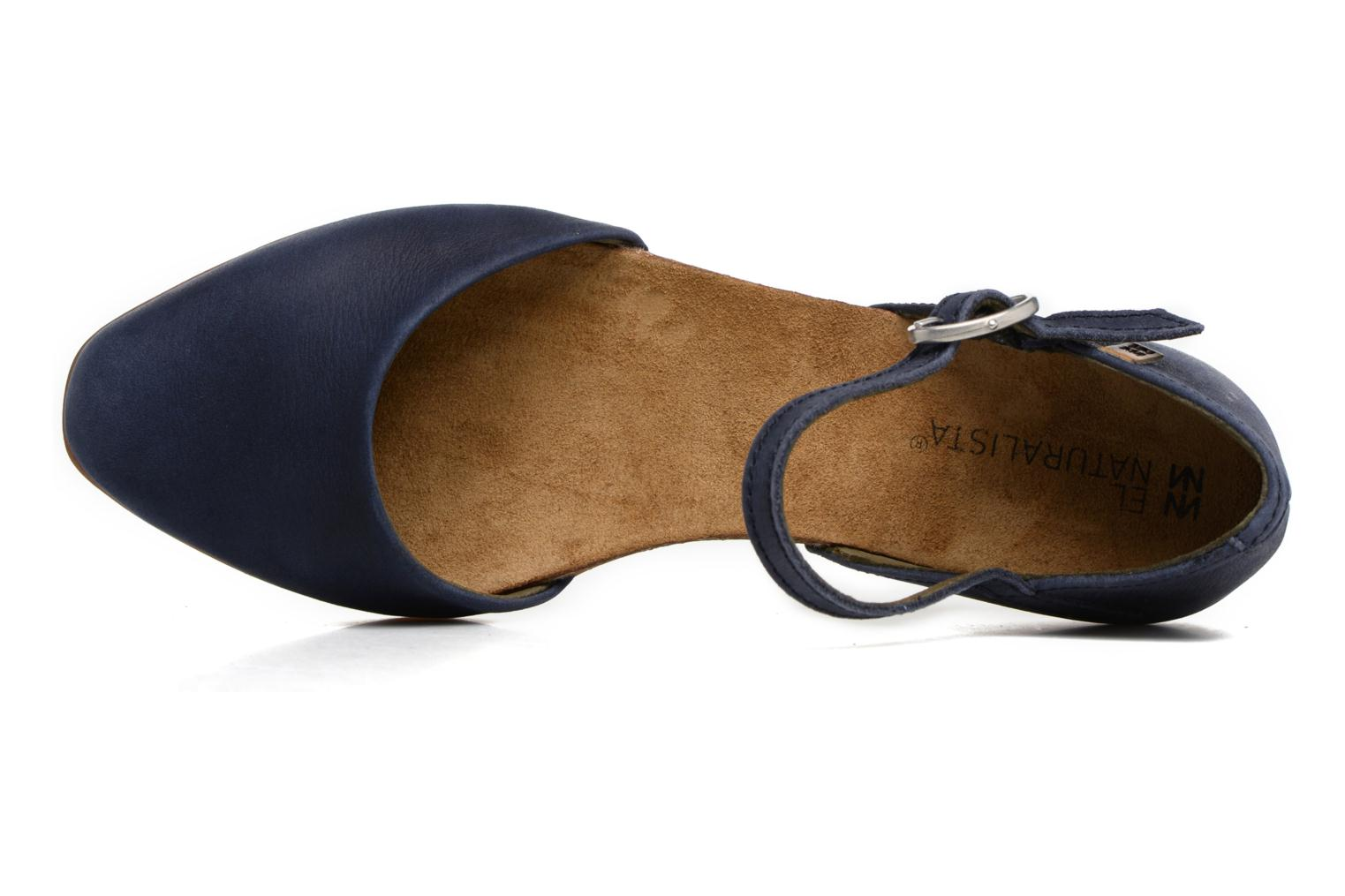 Ballet pumps El Naturalista Stella ND54 Blue view from the left